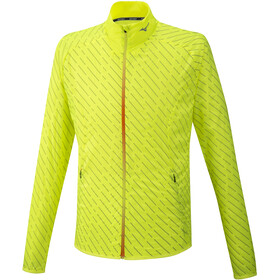 Mizuno Reflect Giacca A Vento Uomo, safety yellow